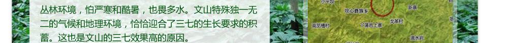 三七种植环境
